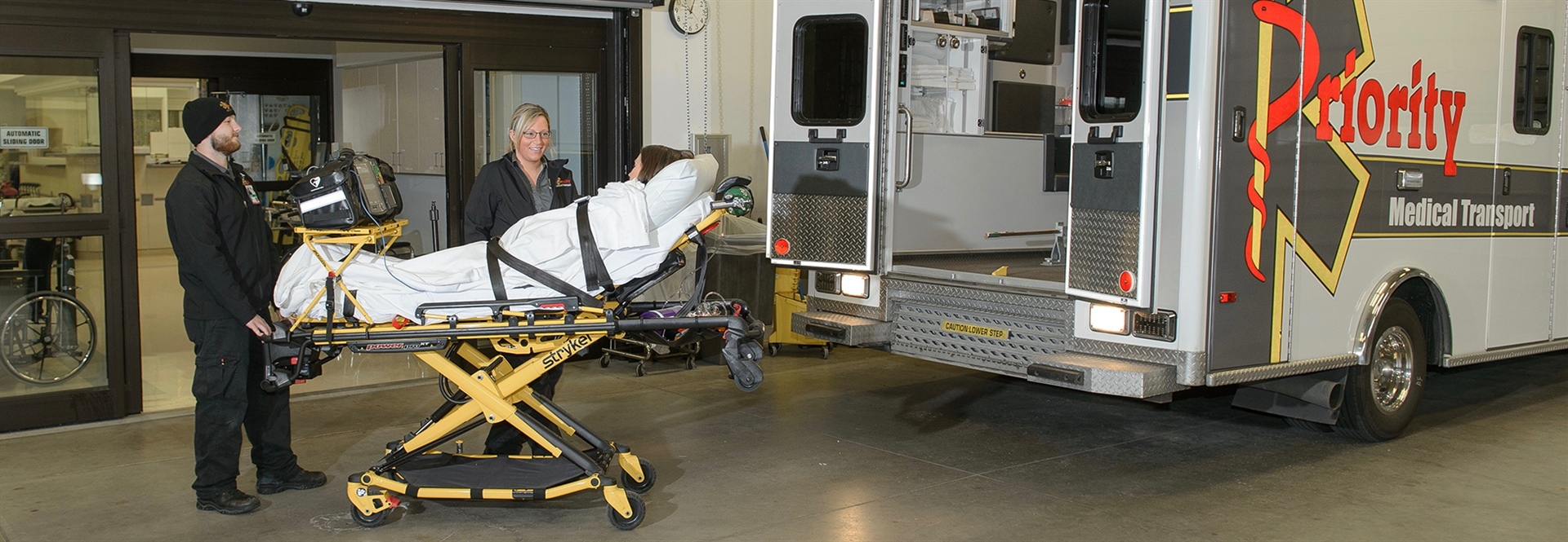 PMT Ambulance, Patient Transport