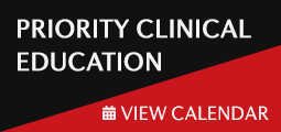 Priority Clinical Education  - View Calendar